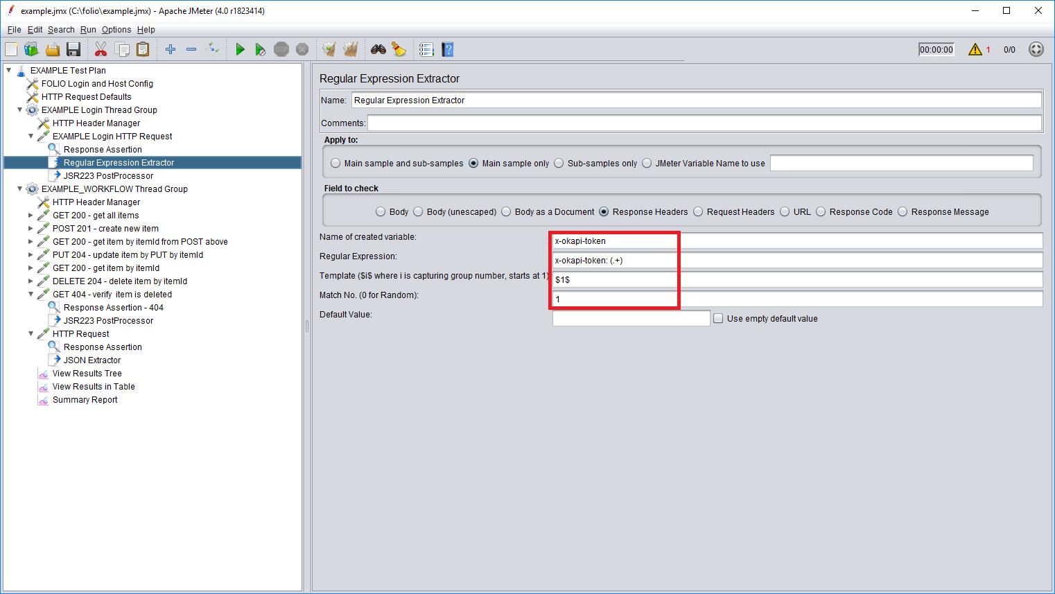 How to write JMeter performance tests - Folio EPAM